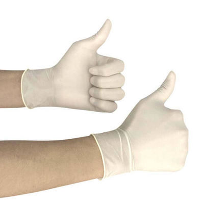 High Toughness Latex Free Disposable Gloves , No Holes Disposable Sterile Gloves