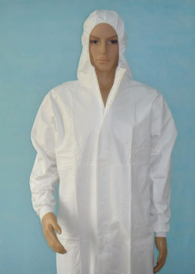 Hospital / Personal Care PP Isolation Gown Long Sleeves Breathable Saftey