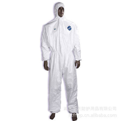 Lightweight Waterproof Disposable Coveralls , Body Medline Isolation Gowns