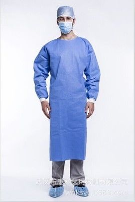 Disposable Medical Isolation Gowns Reliable Barriers For Surgical Supplies supplier