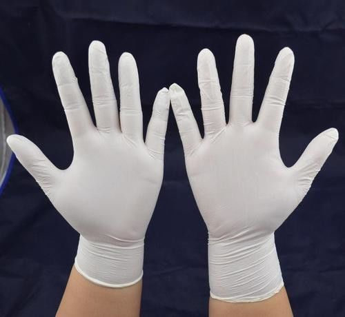 XS - XL Nitrile Medical Disposable Hand Gloves Biodegradable 245 ± 5mm Length supplier