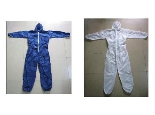 Non Toxic Breathable Disposable Coveralls , Reliable Disposable Body Suit supplier